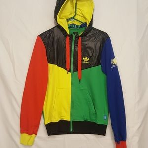 Adidas 2010 South Africa World Cup Jacket Hoody S